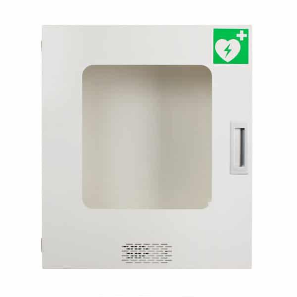Defibrillator Wandschrank mit Alarm