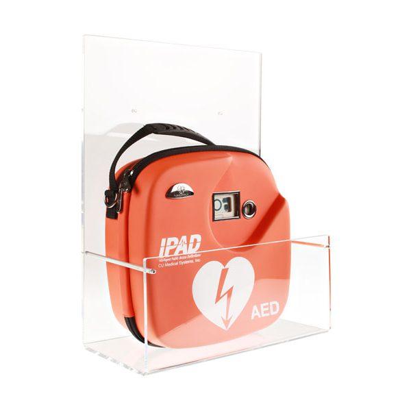 AED-Wandhalterung_mit CU-SP1