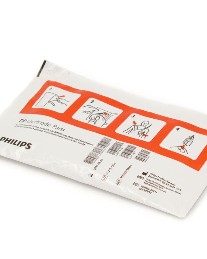 Elektroden für Erwachsene passend für Philips Heartstart FR & FR2 AEDs