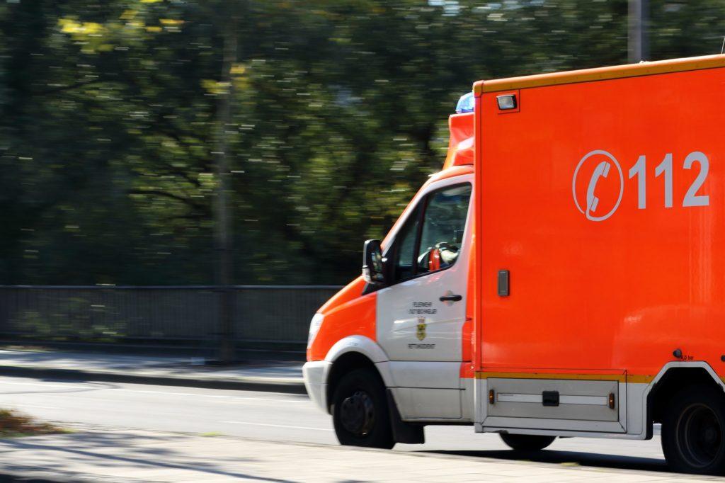 112-Rettungswagen-Notruf