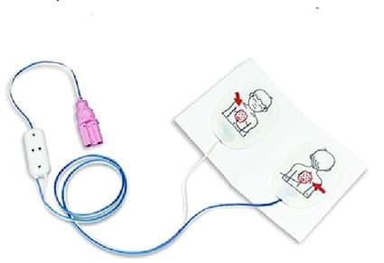 Paramedic CU-ER Kinder-Defibrillationselektroden