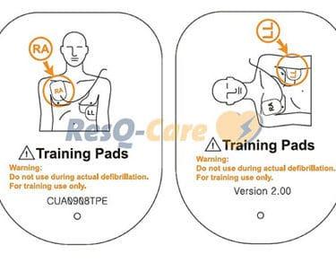 Paramedic CU-ER-Trainingselektroden
