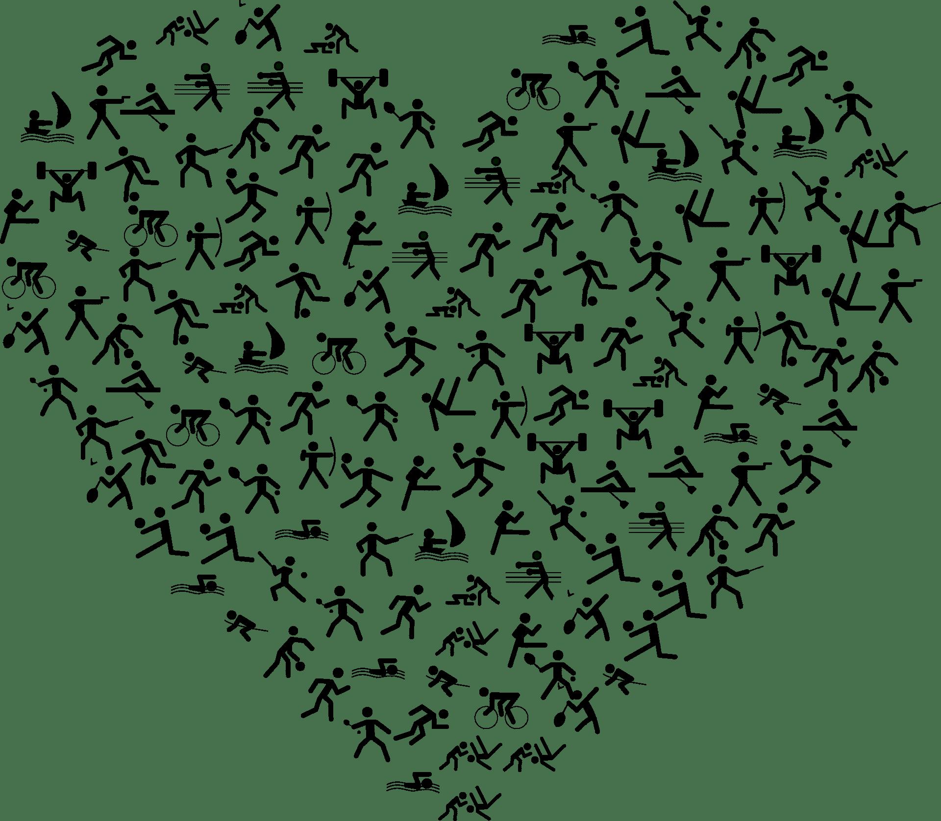Sportarten für die Herzgesundheit